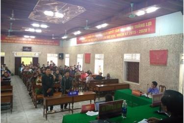 Xét xử lưu động vụ án hình sự xảy ra tại lâm phận VQG Phong Nha - Kẻ Bàng